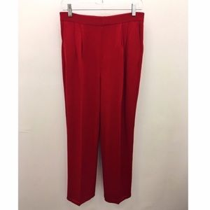 ST. JOHN Collection Red Pants by Marie Gray Size 2